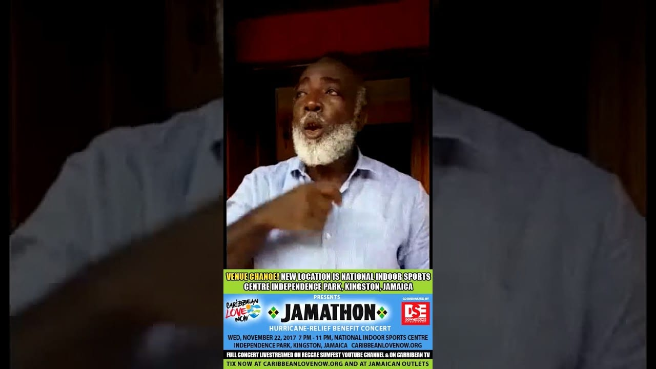Photo of Freddie McGregor asking everyone to come out in support of JAMATHON [Video]