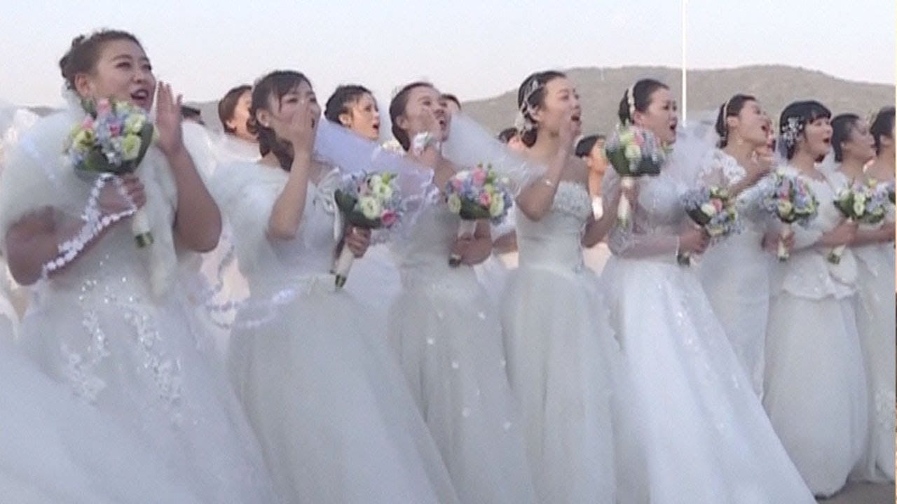 Photo of Chinese navy holds group wedding… For 36 soldiers [Video]