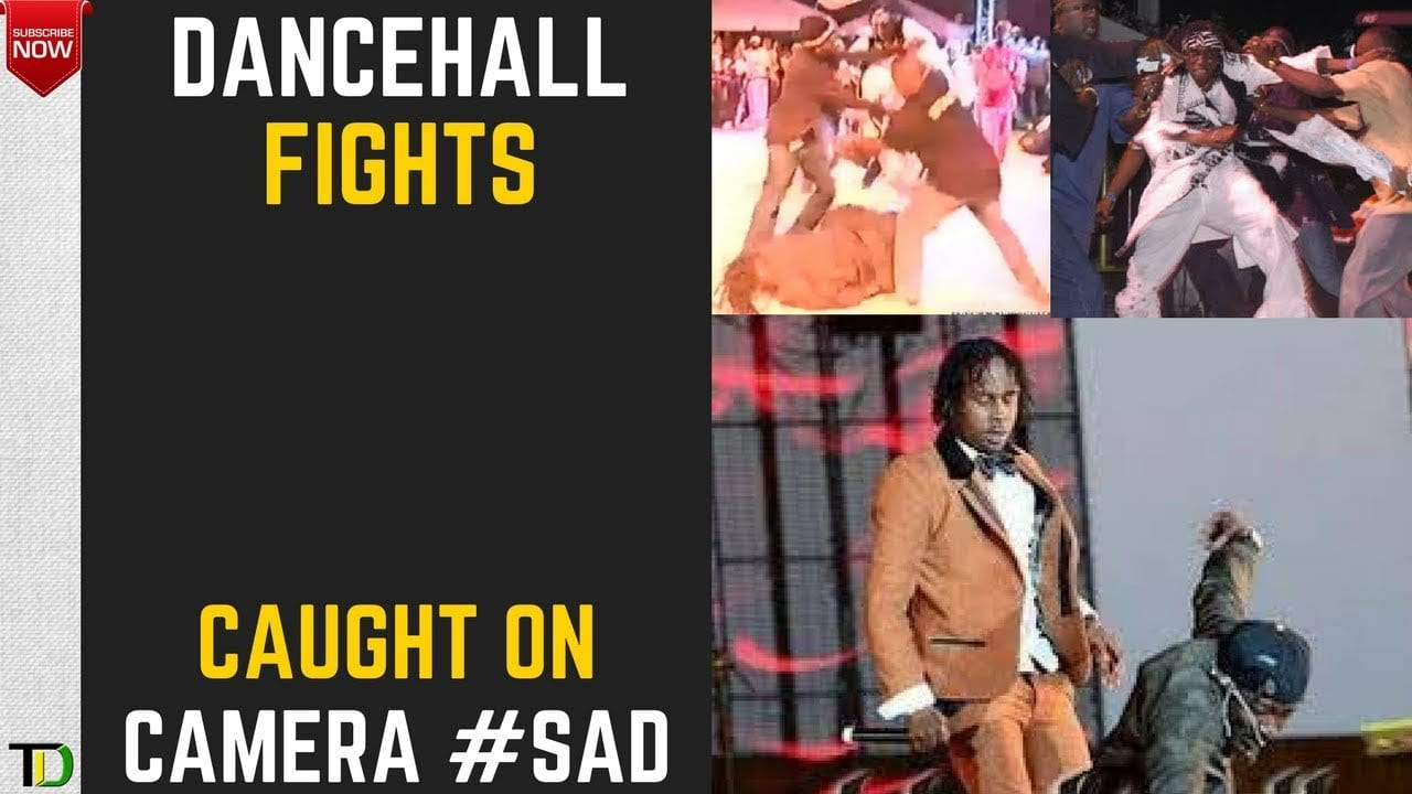 Photo of Dancehall FIGHTS!… Foota Hype, Lexxus, Marvin, Munga, Vybz Kartel +more… MOMENTS when DANCEHALL got PHYSICAL and VIOLENT! [Video]