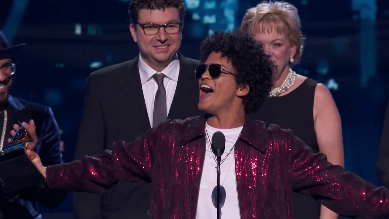 Photo of Bruno Mars wins big at Grammys 2018… Takes Album and Song of the year [Video]