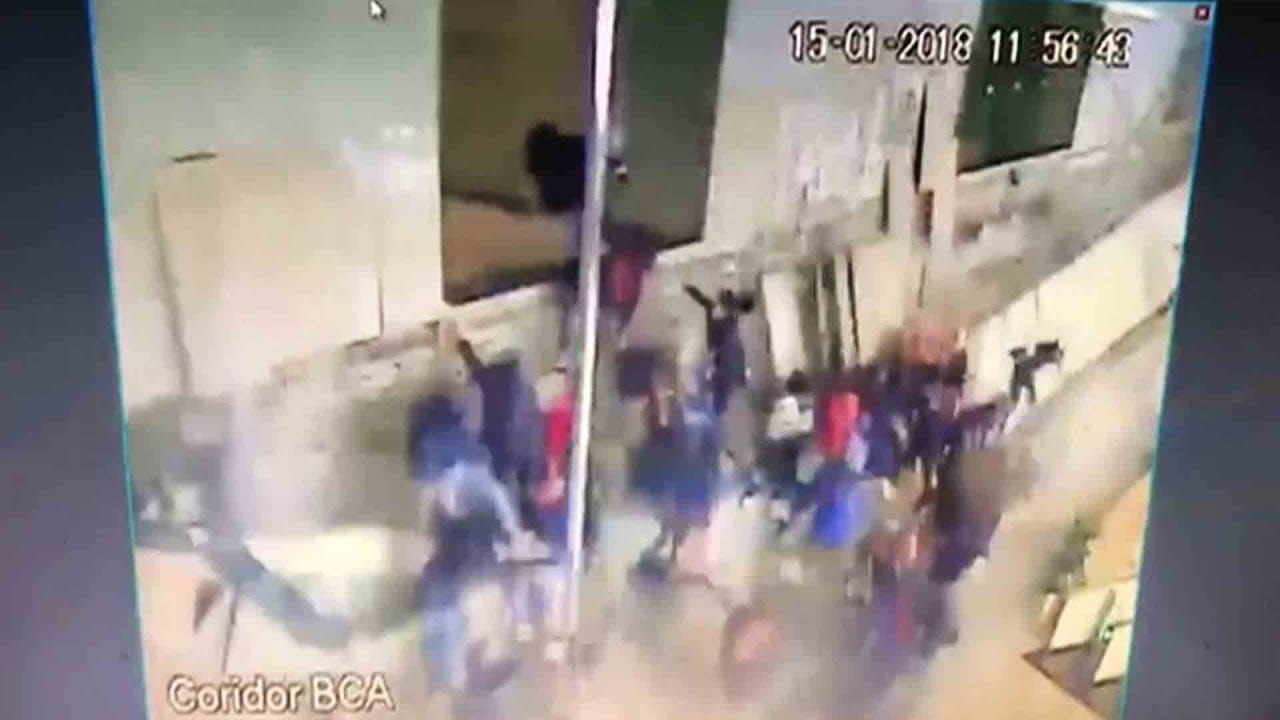 Photo of WATCH: Shocking moment when floor collapse with Students [Video]