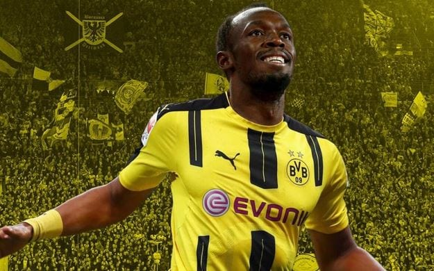 Photo of Usain Bolt set for FOOTBALL trial with Borussia Dortmund in march