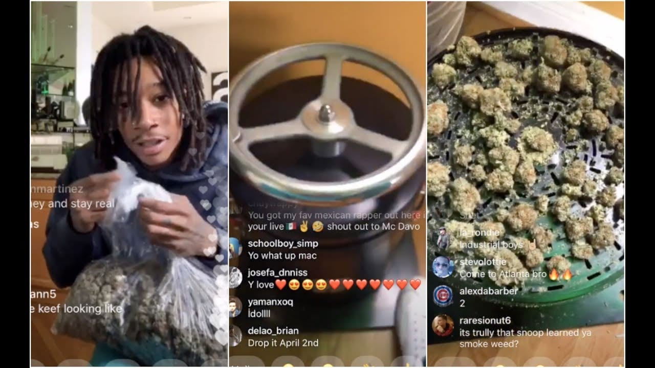 Photo of Wiz Khalifa Shows us The Worlds Biggest Weed Grinder [Video]