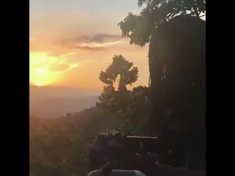 "Photo of CHRONIXX here in the hills of?… Singing ""Skanking feet"" Reggae [Video]"