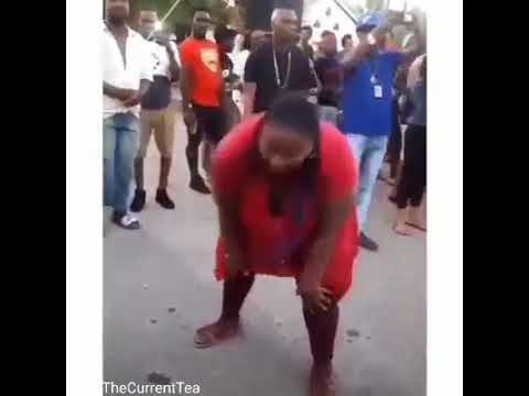 "Photo of Somebody's aunty here ""brucking-out"" to Vybz Kartel's Unda Wata [Video]"