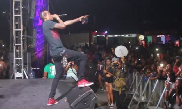 Photo of Tommy Lee Sparta here performing at Chromatic LIVE, MASS CAMP [Video]
