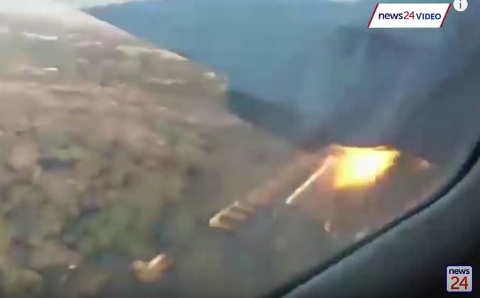 Photo of fatal plane crash caught on camera by passenger [Video]