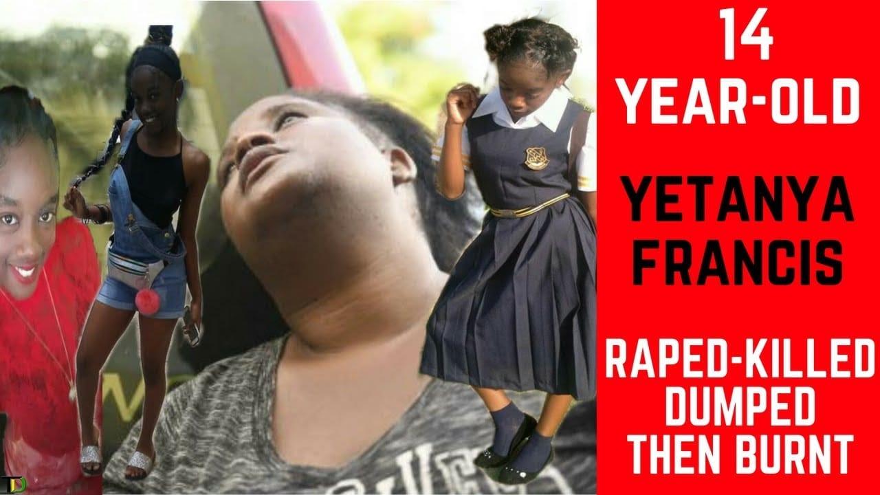 Photo of 14yo Raped, Chopped, Dumped then BURNT in Arnett Gardens