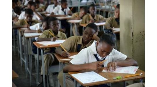 Photo of Jamaican Children Moving from GSAT exams to PEP exams