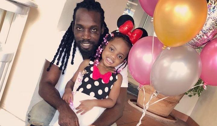 Photo of Mavado Celebrates Daughter's Birthday