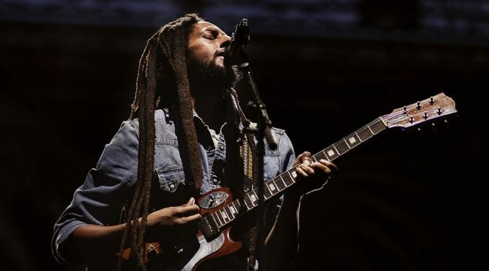 Photo of Julian Marley Gave a Touch of Marley Magic