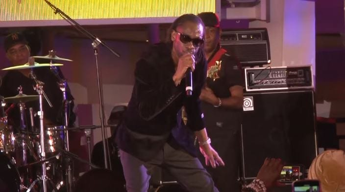 """Photo of Bounty Killer here performing """"It's A Party"""" Aboard Welcome To Jamrock 2018 [Video]"""