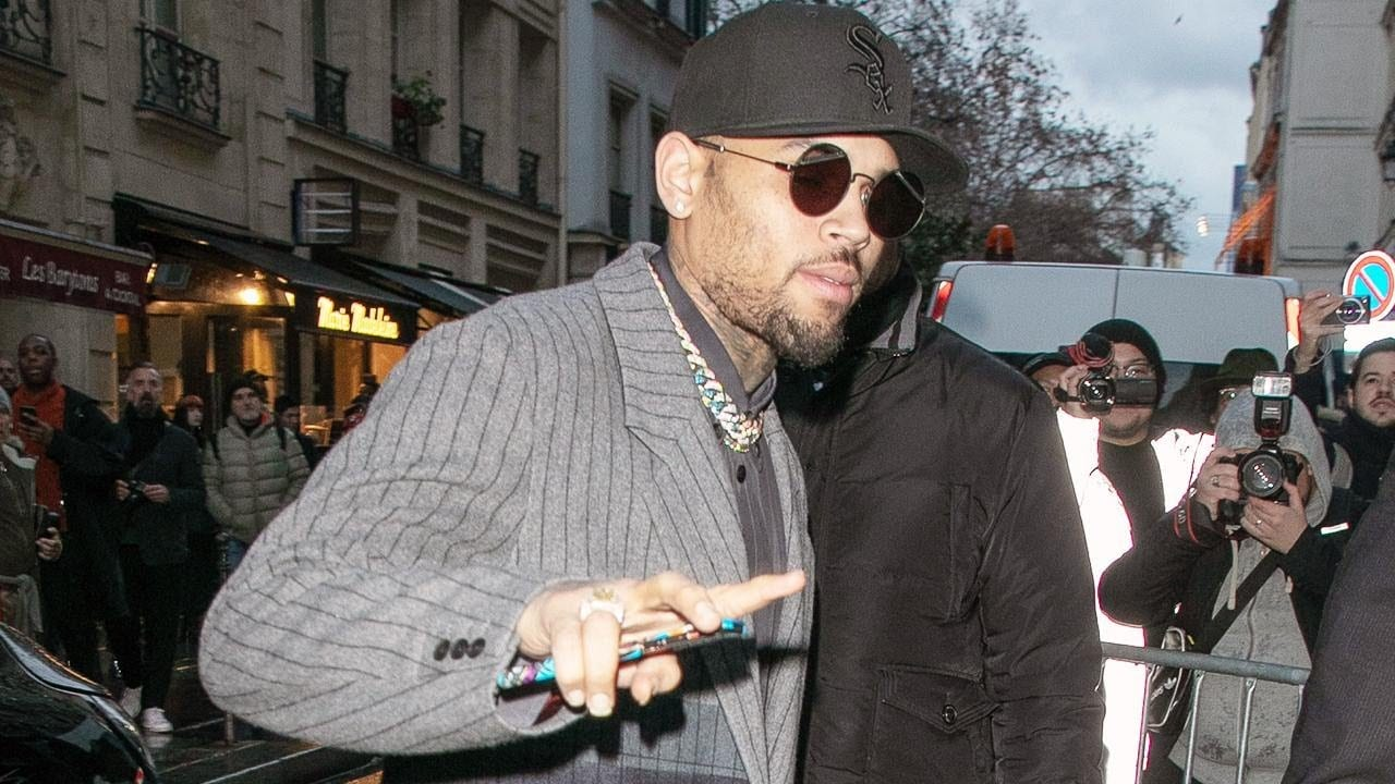 Photo of Chris Brown arrested in France Following Rape Allegations