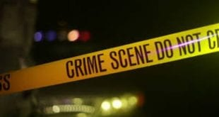 Robber shot dead yellow tape crime scene jamaica
