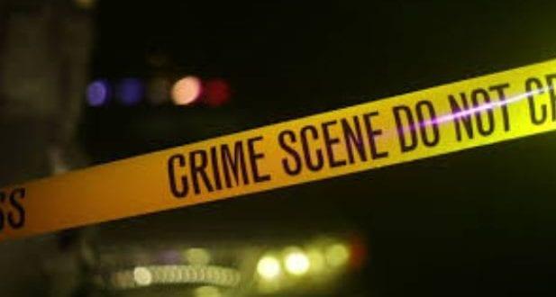 Robber shot dead yellow tape crime scene jamaica