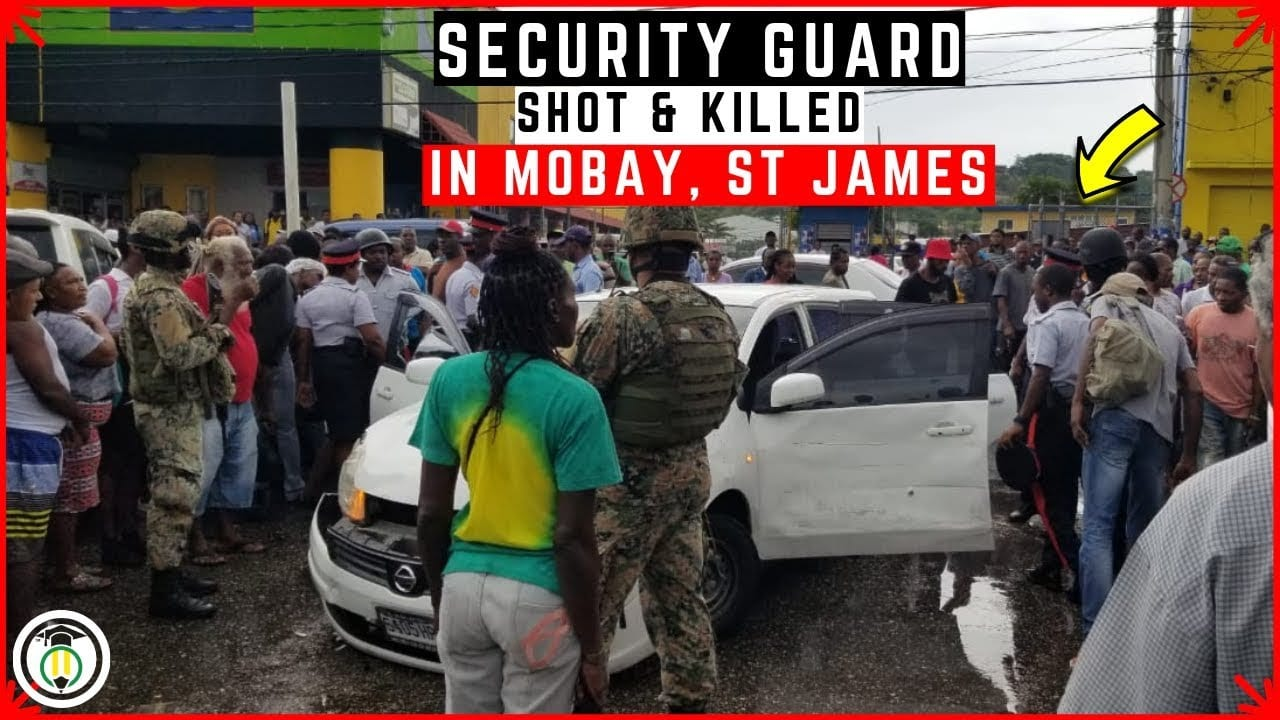 Photo of MEANWHILE: Security Guard shot and KiLLED during R0BBERY attempt in Mo Bay [Video]