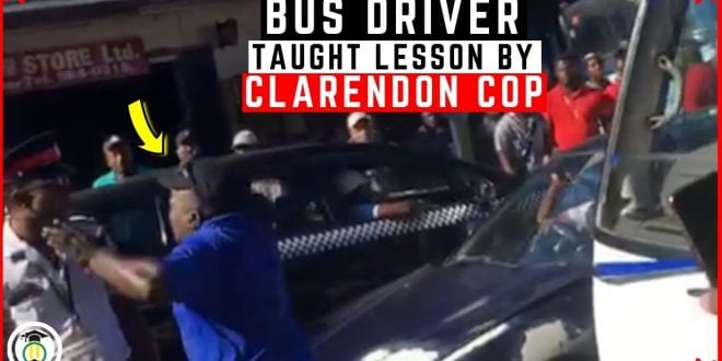 Who's wrong here?… Police shoot Bus driver in Spalding Clarendon