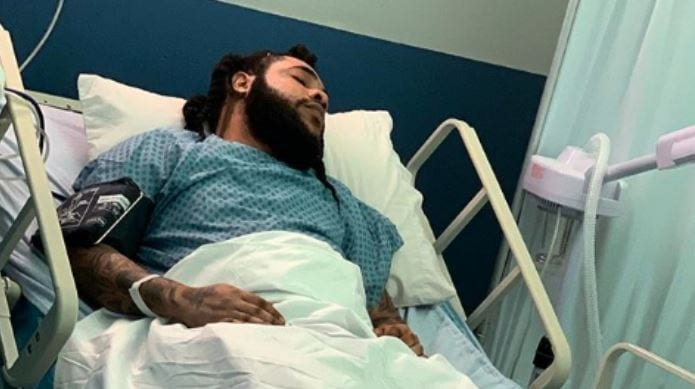 Photo of Squash Responds to Viral Pic of Him in Hospital Bed