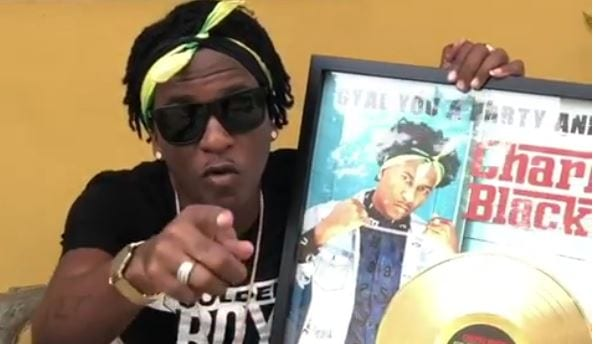 Photo of Charly Black Shows Off 'Party Animal' Certified Gold Plaque [Video]