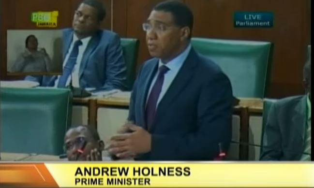 Photo of PM Andrew Holness Talks on Current Water Shortage