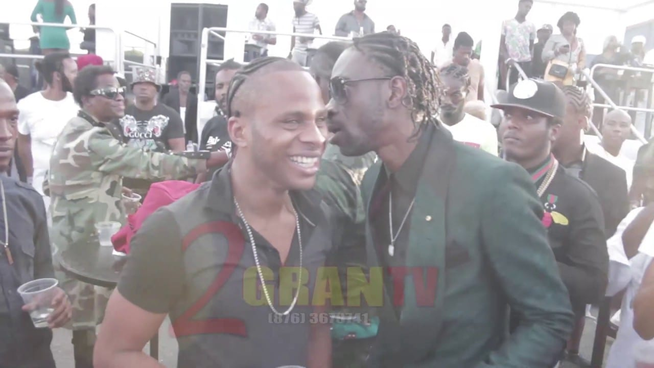 Photo of Bounty Killer, Dexta Daps, Beenie Man, Aidonia All Present At Fathers-Day/Birthday Party [Video]
