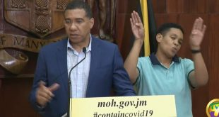Jamaican Gov't Update: Press Conference - March 20 2020