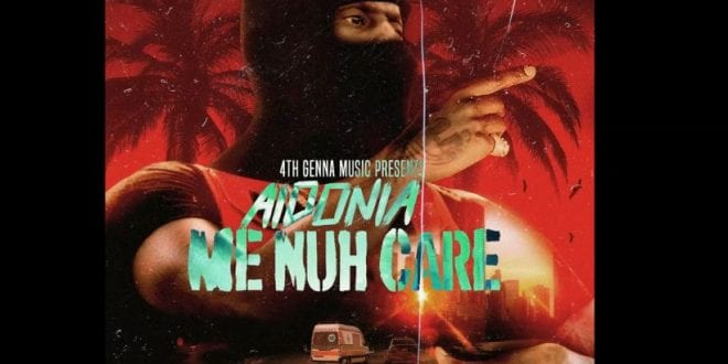 Aidonia mi nuh care cover art image 2019