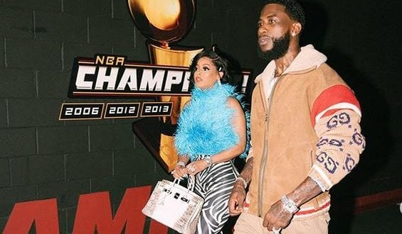 Gucci Mane And Jamaican Wife Keysha Kaoir in Jamaica for Unruly Fest
