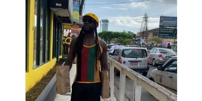 gucci mane in ochi jamaica patties