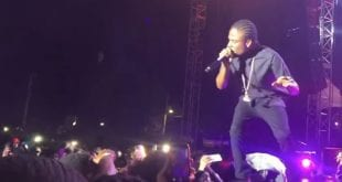 masicka here performing in st thomas at unruly fest with popcaan