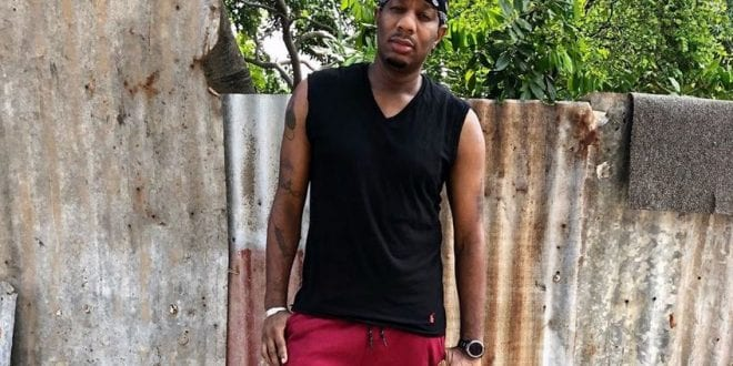 dancehall artiste and producer rum blood freed
