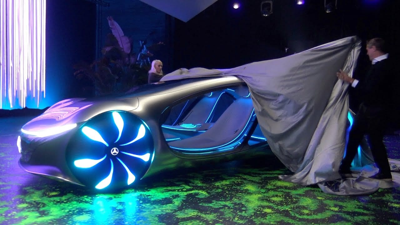 """Photo of """"This is not a car it's a Creecher"""" The Mercedes-Benz VISION AVTR  [Video]"""