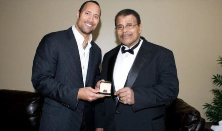 Photo of WWE Legend Rocky Johnson, The Rock's Father Dead at 75