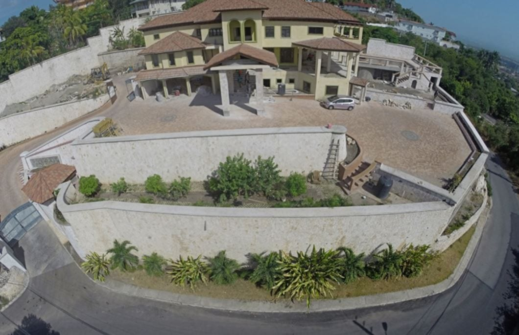 andrew holness house under cpnstruction
