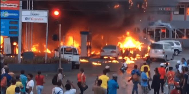 Mandeville gas station fire