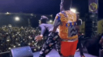 Beenie Man and D'angel Back Together on Stage Dancing  [Video]