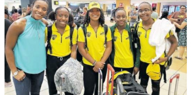 Jamaica Young Swimming Team Inspired by Alia Atkinson