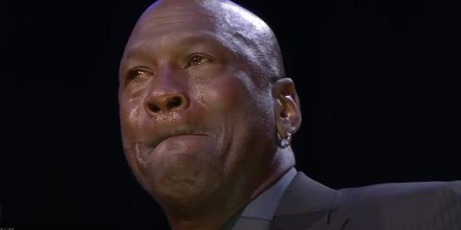 Tearful Michael Jordan gives Speech at Kobe's Memorial [Video]