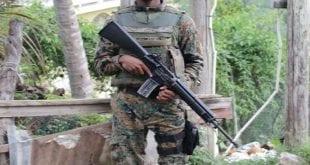 Jamaican solider
