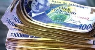 jamaican money cash 1000 thousand one bill 2020