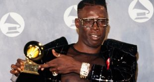 Shabba ranks and his grammy