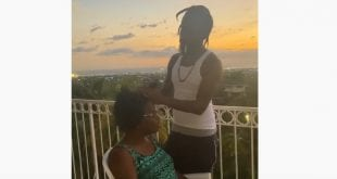 """Coming Of The Lord is Near"" Popcaan and his Mother Again [Video]"