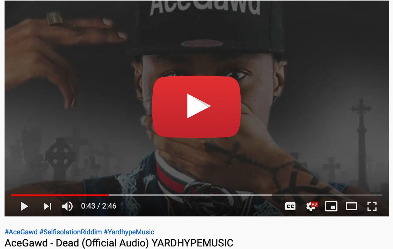 acegawd dead yardhypemusic