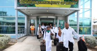 140 medical professionals from Cuba arrived in Jamaica