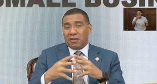 PM Holness Informs Workers and Small Businesses