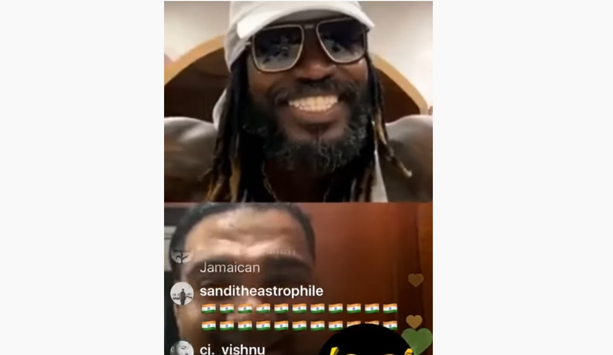 Photo of Chris Gayle and Romeich Talks Living The Rich Life on IG [Video]