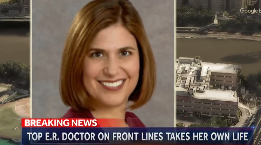 Photo of New York Doctor Commits Suicide After Seeing COVID-19 Tragedy around her