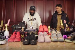 Rick Ross Shows Us Over 100 Sneakers in His 100 Room Mansion [Video]