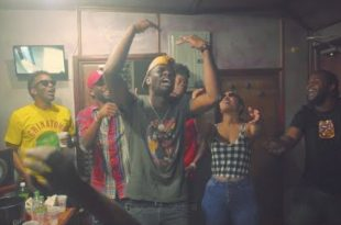 """Teejay, Konshens, Shenseea, Ding Dong, Tarrus Riley, Kemar Highcon, Kash and Romeich """"We Rise"""" Video"""