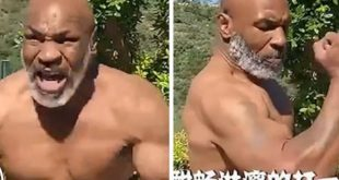 Mike Tyson Gets Ready For Big Fight!